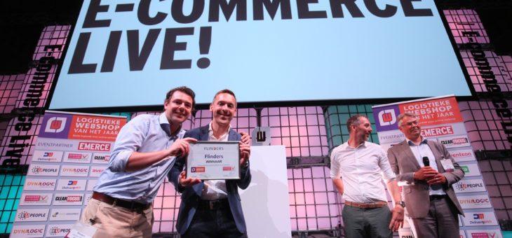 Flinders winnaar Award Logistieke Webshop van het Jaar 2018